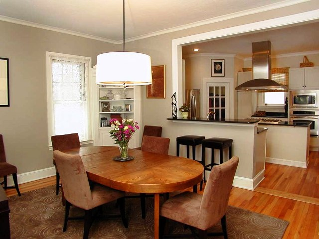 133 Kenyon- Dining Room and Kitchen