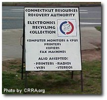Electronics Recycling in Greater Hartford