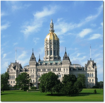 Connecticut State Capitol Building in Hartford