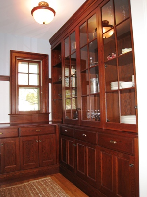 Cabinetry in the Pantry