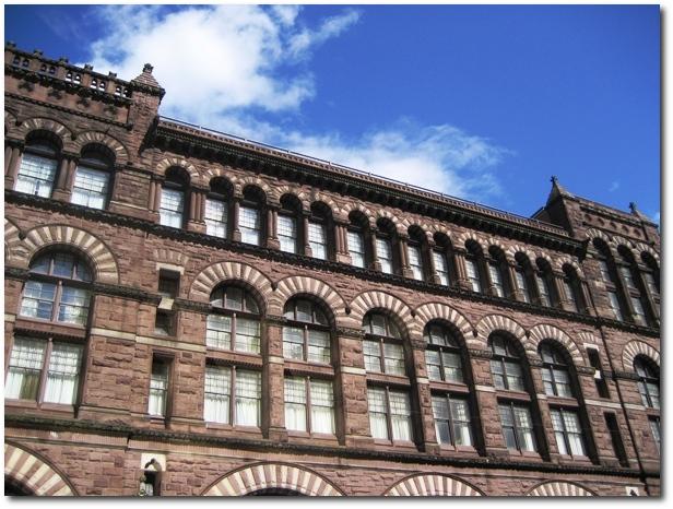 Richardson Building in Downtown Hartford