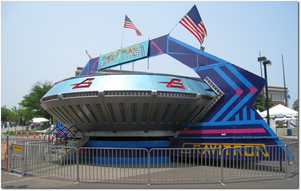 Ride the Gravitron at Celebrate West Hartford 2011