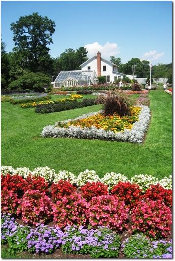 The Elizabeth Park Annual Garden in Hartford