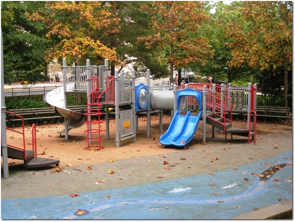 Bushnell Park Playground - Smaller Playscape
