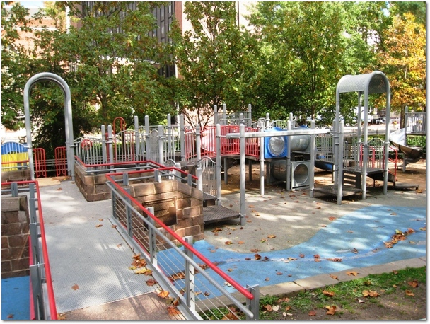 Bushnell Park Playground - Larger Playscape