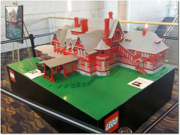 Lego Mark Twain House