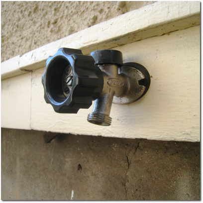 Outdoor Water Spigot