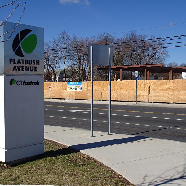 Next to Flatbush Station