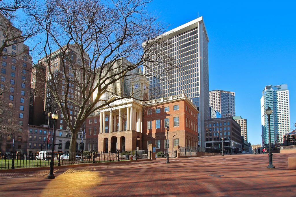 Mid-Morning at the Old State House