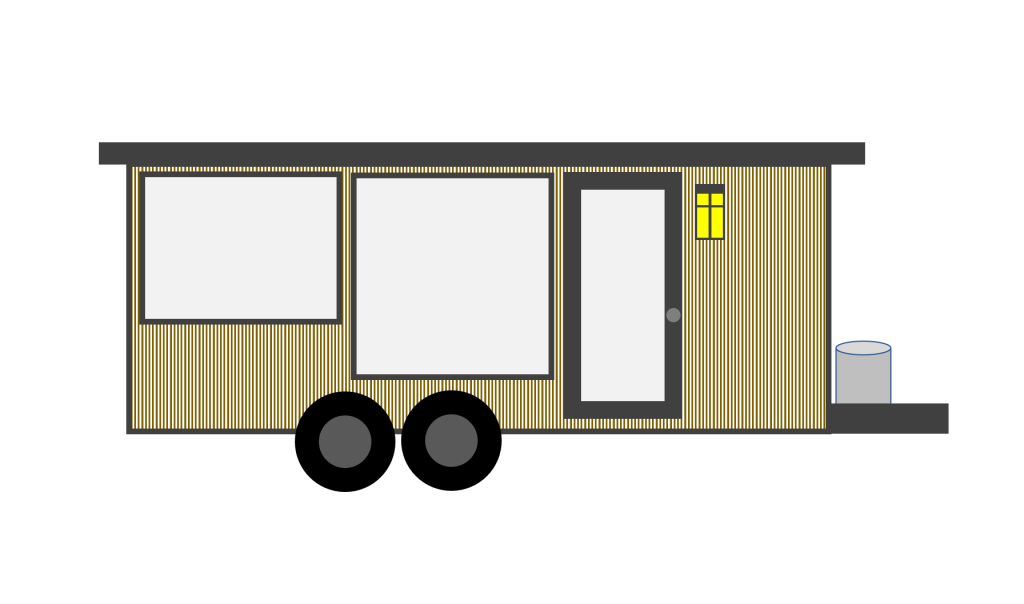 2019-02-01 Prairie Style Tiny House Drawing