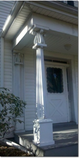 Old Porch Column