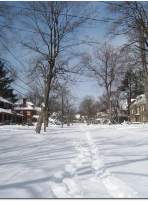 Oxford Street, Hartford on Sunday