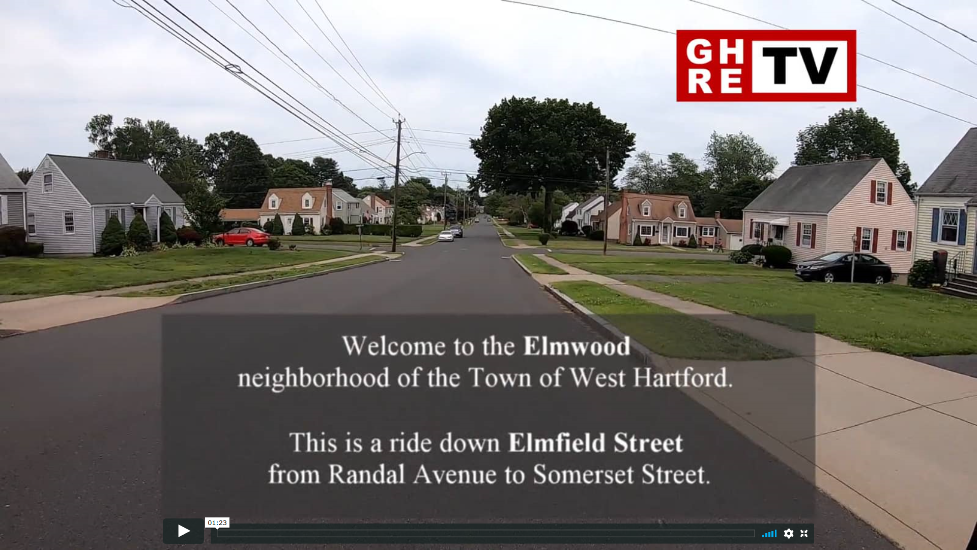 2019-08-13 Exploring West Hartford Elmfield